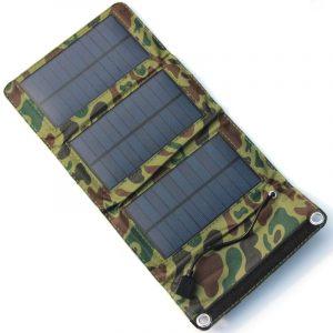 Încărcător solar portofel