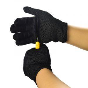 Mănuși anti-tăiere din oțel