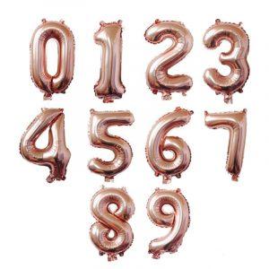 Baloane cifre mari aniversare