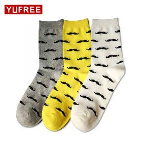 Ciorapi funny din bumbac pentru bărbați