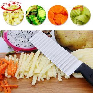 Cuțit pentru cartofi ondulați