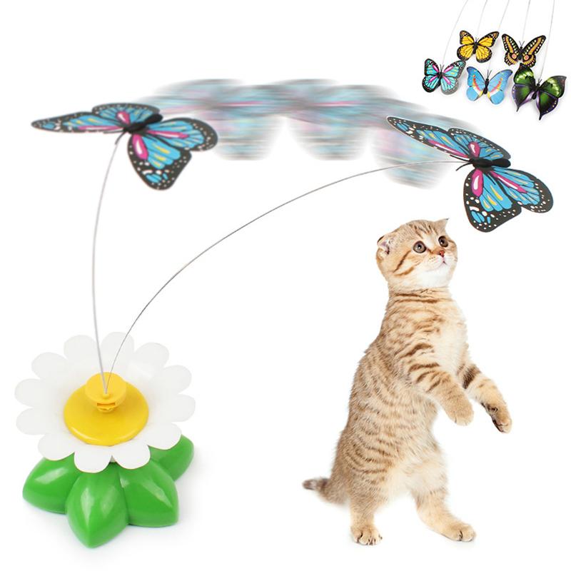 Jucărie zburătoare pentru pisici