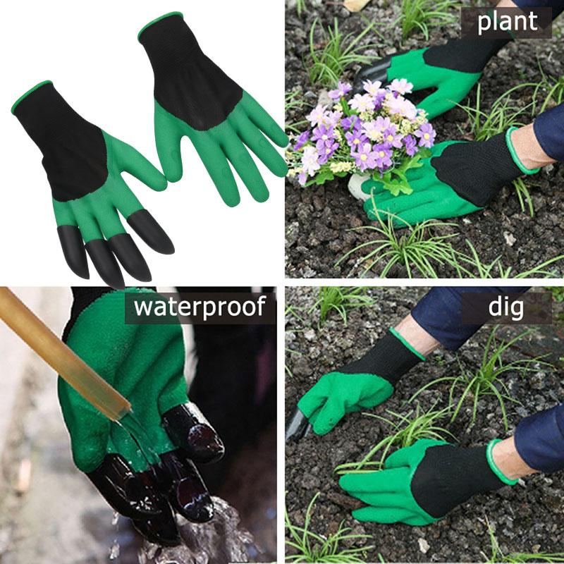 Mănuși cu gheare pentru grădinărit