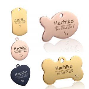 Medalion personalizat pentru câini