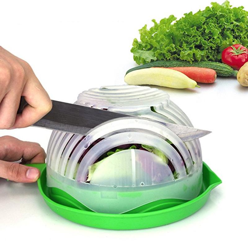 Tocător pentru salată în 60 secunde