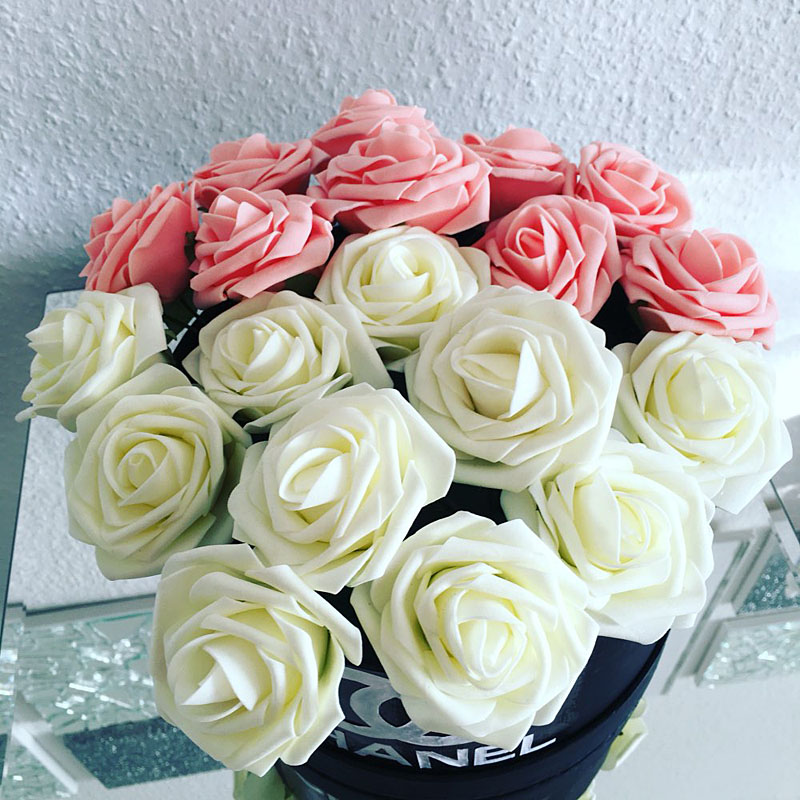 Trandafiri artificiali ieftini