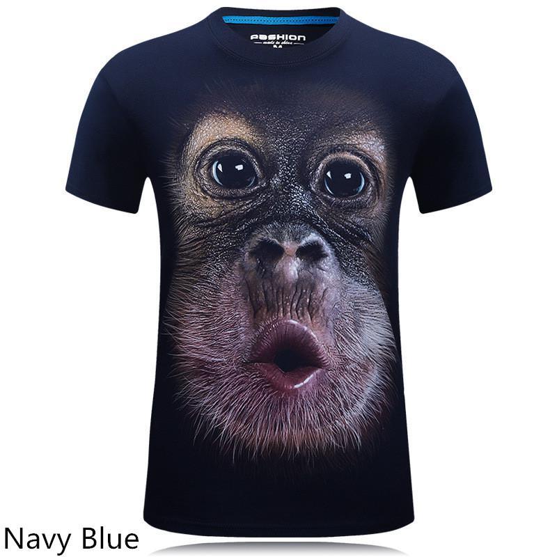 Tricou animal print 3d bărbați
