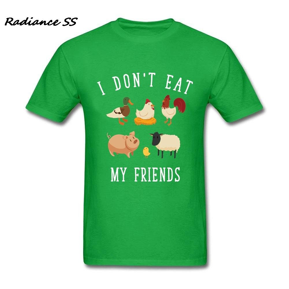 Tricou din bumbac pentru vegetarieni