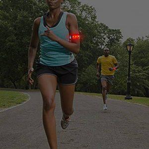 Mini lanternă pentru alergare cu 5 LED-uri