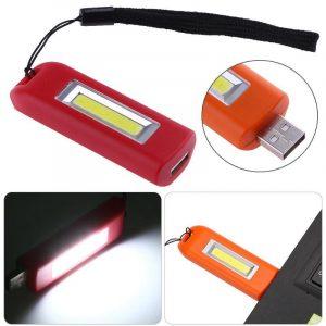 Lanternă breloc USB stick