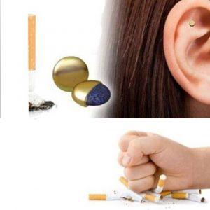 Magneți antifumat pentru ureche